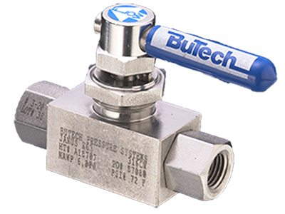 Butech 2 way floating ball valve